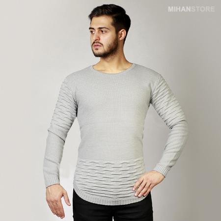 خرید اینترنتی پستی آنلاین بافت بلند مردانه لاغر اندام