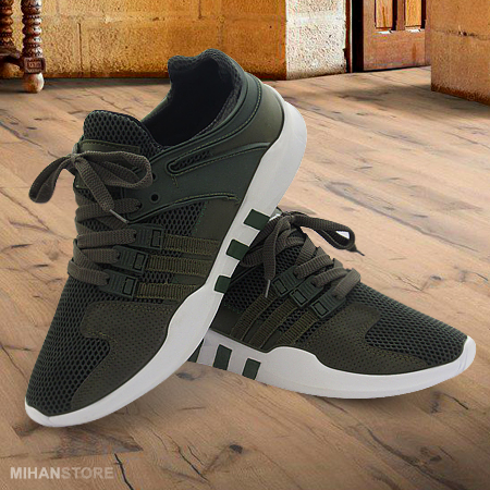 کفش کتونی اسپرت سبز مردانه اکومنت حراجی پاییزی