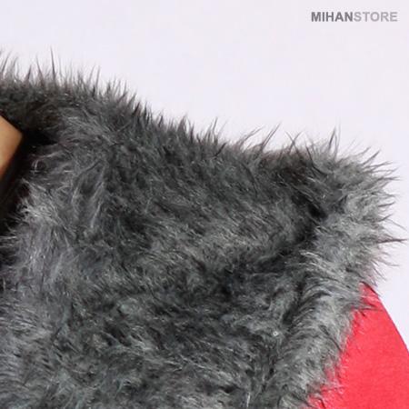 خرید پستی مدل جدید هودی قرمز مردانه کلاه دار