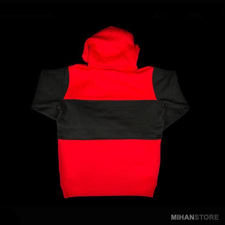 هودی رنگی مردانه پسرانه کلاه دار زمستانه 1396