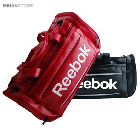 خرید اینترنتی ساک ورزشی Reebok رنگ قرمز مشکی
