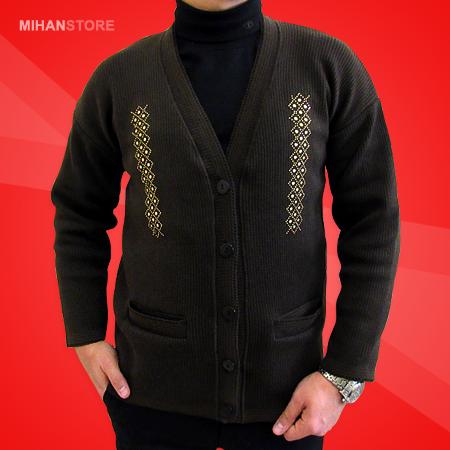 خرید پستی ژاکت استین بلند زمستانه مردانه ارزان قیمت