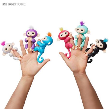 خرید اینترنتی ربات اسباب بازی سرگرمی میمون بند انگشتی