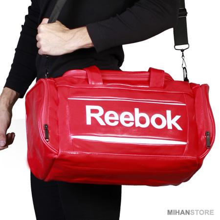 ساک ورزشی Reebok رنگ قرمز مشکی