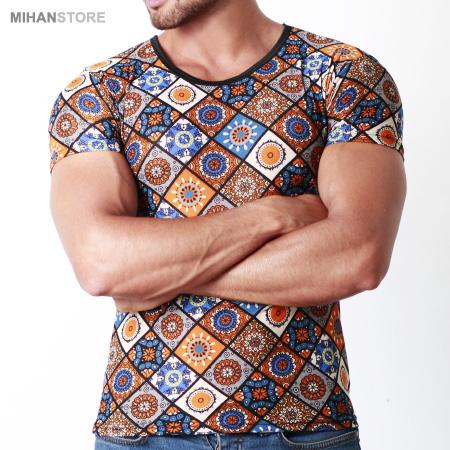 خرید تیشرت هاوایی خنک بهاری تابستانه مردانه پسرانه 1398