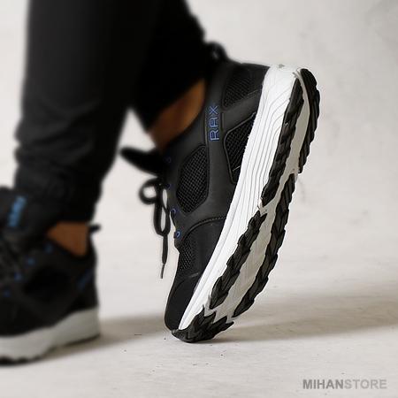 کفش مردانه Rax رنگ مشکی زیره سفید