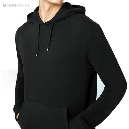 خرید اینترنتی مدل جدید هودی ارزان قیمت دخترانه زنانه رنگ مشکی ساده بدون طرح جیب دار دانشجویی مدرسته ای مخصوص خانوم های عاشق هودی و تیشرت سویشرت های اسپرت 2018