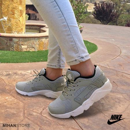 خرید آنلاین کفش دخترانه نایک مدل هوراچی رنگ خاکستری