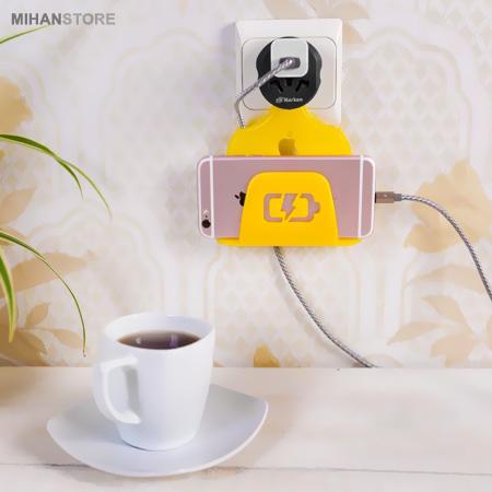 خرید اینترنتی نگهدارنده موبایل هنگام شارژ 2 عددی