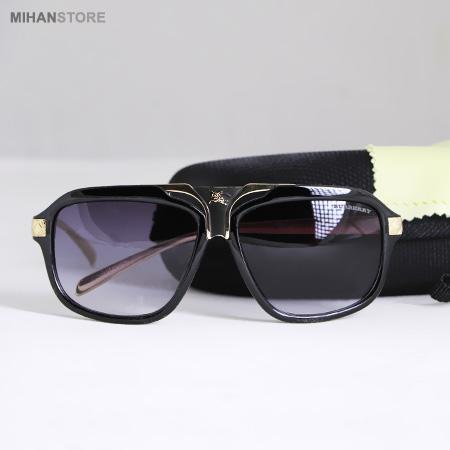 عینک آفتابی باریک لاکچری فلزی ضد خش حساسيت پوستی