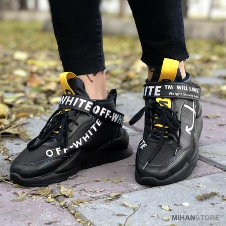 خرید ارزان کفش لاکچری زنانه دخترانه مشکی اسپرت کتانی 2020