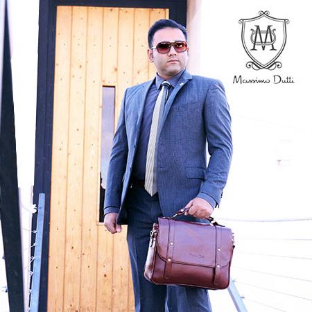 کیف اداری مردانه زنانه در چهار رنگ مختلف مشکی قهوه ای عسلی و کرم