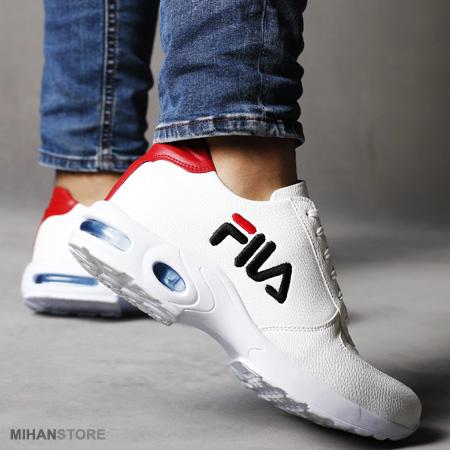 کفش مردانه فیلا رنگ سفید درشت طرح Radiant